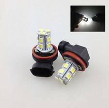 1X 6000K Xenon White H8 13-SMD LED Fog Light Daylight Driving Lamp Bulbs 12V+BO