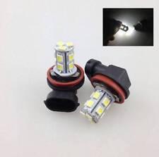 1X 6000K Xenon White H8 13-SMD LED Fog Light Daylight Driving Lamp Bulbs 12V S~