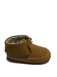 Carter's Every Step Girls' Gilly-SG, Fashion Booties-Brown, Toddlers' Size 4.5M.