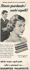 W8673 Shampoo PALMOLIVE  - Pubblicità del 1958 - Vintage advertising