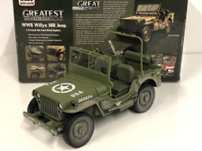 1941 Jeep Willys Vert Olive Terne WWII Boue Couvert Auto World AWML005B