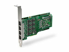 Sangoma A104DE AFT Quad T1 E1 DataStreams PCIE Asterisk Voice Card w EC Hardware