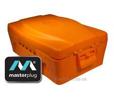 Masterplug IP54 ARANCIONE WEATHERPROOF ELECTRIC BOX-Resistente All' Acqua Scatola Di Plastica