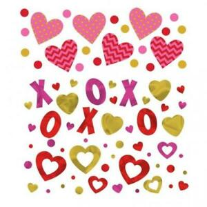 Valentines Day Triple Value Pack of Confetti Sprinkles - 3 Designs 31g