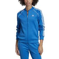 Adidas Originals Women's SST Track Jacket Bluebird ED7587 NEW