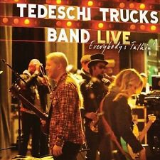 Live: Everybody's Talkin' [Digipak] by Tedeschi Trucks Band (CD, May-2012, 2 Discs, Masterworks)