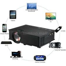 UC46 Mini HD Projector Cinema Theater PC Laptop VGA/USB/SD/AV Wireless Wifi S6H0