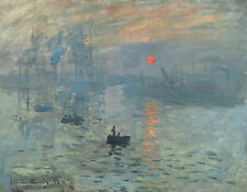 A3 -CLAUDE MONET IMPRESSION  - FAMOUS PAINTERS CLASSIC PAINTINGS Posters #4