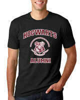 Hogwarts Alumni Potter Fan Mens Graphic T Shirt Movie Tee