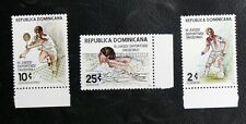 TIMBRES SPORTS DIVERS : 1979 DOMINICAINE YVERT N° 842/43 + PA 346** NEUF - TBE