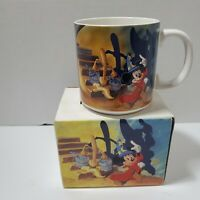Disney Fantasia Mug w/ Box, Vintage, Made in Japan, Good Pre-owned Condition
