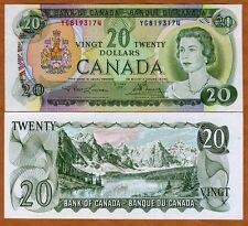 Canada, $20, 1969, P-89b, aUNC
