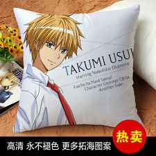 Anime Cushion Kaichou wa Maid-sama! usui takumi Throws Print Decorative Pillow
