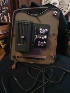 USED Keystone K-77 8mm Automatic Motion Picture Projector POWERS ON Motor & Lamp