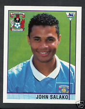 Merlin 1996 Football Sticker - No 420 - John Salako - Coventry City