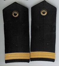 Pair Obsolete Canadian Navy Acting Sub Lieutenant Shoulder Boards