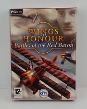 WINGS OF HONOUR BATTLES OF THE RED BARON - PC - BIG BOX - NUOVO FACTORY SEALED