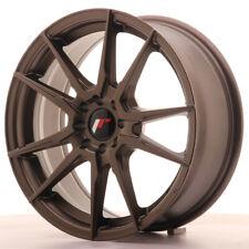 Japan Racing JR21 Alloy Wheel 17x7 - 4x114.3 / 4x100 - ET40 - Matt Bronze