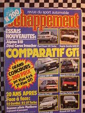 ECHAPPEMENT 1985 CITROEN VISA GTI / RENAULT 5 GT TURBO + R8G/ PEUGEOT 205 GTI /