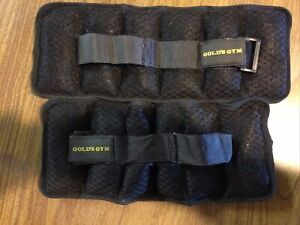 Golds Gym - Adjustable Ankle Weights, 2.5-5Lb Pair