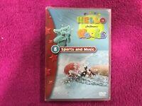 HELLO HOOBS DVD 8 JIM HENSON NUEVO NEW PLANETA JUNIOR PRECINTADO