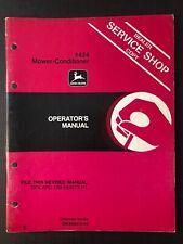 John Deere 1424 Mower Conditioner Operators Manual Om E69573 Issue H2