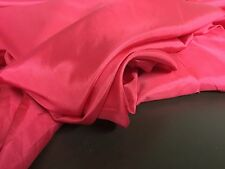 "NEW Beautiful Pink Cerise 100% Fine Silk Fabric Dress Cloth 55"" 141cm"