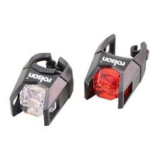 Rolson Led Bike Light Set for Front And Back White Red Head Tail Bright