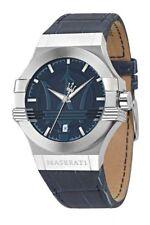 Relojes de pulsera baterías fecha Blue