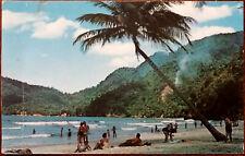 Trinidad, Maracas Bay.  Art Photo Studios / Dexter Press Inc. Postcard