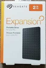 Seagate Expansion 2TB External USB 3.0 Portable Hard Drive Black New!