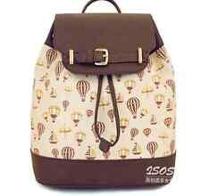 NUOVO SUPER CARINO DONNA HOT AIR BALLOON Satchel Messenger Bag Handbag shopping bag
