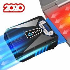 KLIM Refrigerador ventilador usb de Alto Rendimiento para Ordenador Portátil