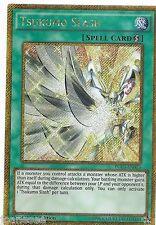 Tsukumo Slash PGL3-EN013 Gold Secret Rare Yu-Gi-Oh Card 1st Edition New