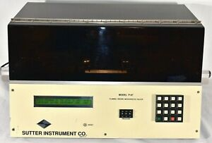 Sutter Instruments P 87 Flaming Brown Micropipette Puller P87