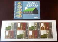 Faroe Stamp Booklet #36 2006 Christmas - The Church at Sands - Mnh - Excellent!