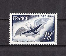 timbre france poste aérienne   avion  de Clément  Ader   num:  23  **