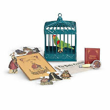 American Girl CECILE PARROT & GAMES Bird Cage Pet Retired Book Marie Grace NEW