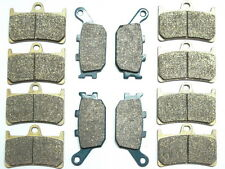 12 Front Rear Brake Pads For Yamaha YZF R 6 R6S 2006 2007 2008 2009 SV SW SX SY