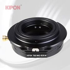 Kipon Tilt Shift Adapter for M42 Lens to Canon EOS-M EF-M Mirrorless Camera