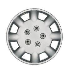 """POLUS 14 """"Auto ruota rifinitura-Taglia unica-Coperchio in Plastica Argento-UNIVERSALE"""