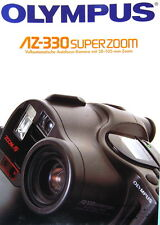 OLYMPUS AZ-330 SUPERZOOM Prospekt brochure - (0456)