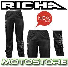 RICHA LADIES FLOWER RAIN OVER TROUSERS 100% WATERPROOF MOTORCYCLE BIKE PANTS NEW