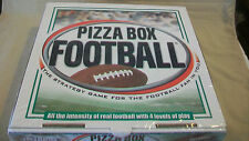 PIZZA BOX FOOTBALL STRATEGY GAME FROM ON THE LINE GAMES, BRAND NEW