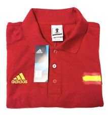 Adidas Red Polo Fifa World Cup Brasil 🇧🇷 Collectable Shirt Size Medium