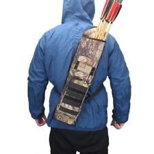 Archery Bag Arrow Quiver Back Bow Hunting Shooting Pack Backpack Target Practice