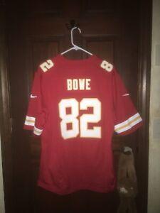 Mens Nike Sz Large DWAYNE BOWE Kansas City Chiefs NFL Football Jersey