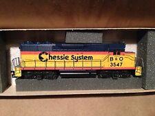 Da5112 Athearn 4208 Gp35 Powered Chessie System B&o 3547 HO Scale Locomotive