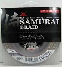 DAIWA SAMURAI BRAIDED BRAID LINE 80# ACCUDEPTH 300YDS