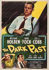 The Dark Past (Film Noir '48) William Holden, Nina Foch, Lee J. Cobb.